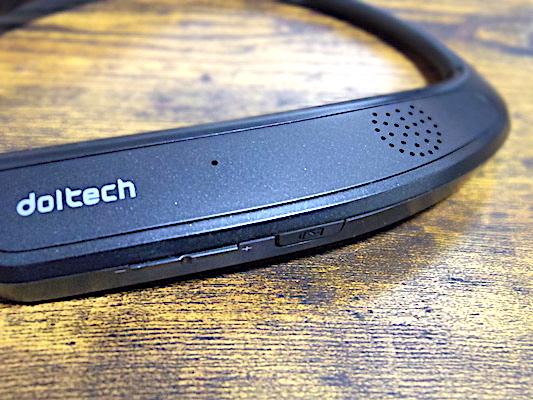 Doltech ネックバンドスピーカー 2 in 1 ワイヤレス Bluetoothイヤホン